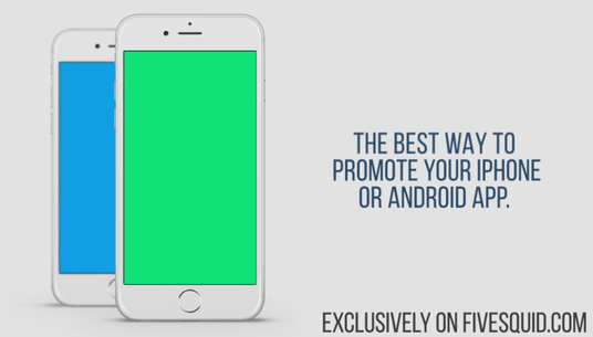 Create Beautiful App Promo Video for iPhone or Android