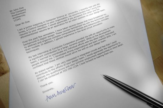 I will Create a Custom Personalised Cover Letter For You For any Purpose e.g. For Recruitment / M