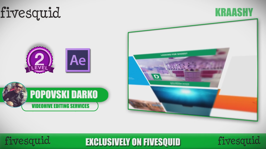 edit your after effects template from videohive