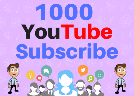 Give you Guaranteed 400 Youtube Subscribe