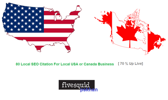 I will Create Top 80 Local Seo Citations For Local USA or Canada Business