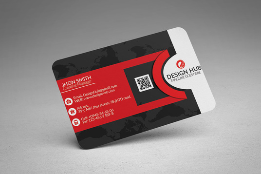 I will design a corporate business card (Brand design)