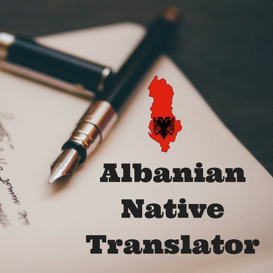 I will Translate 300 words from English To Albanian