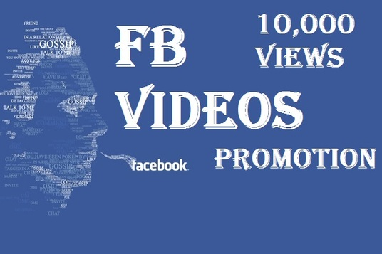 I will promote your Facebook video and provide you 10,000 views plus bonus likes and comments