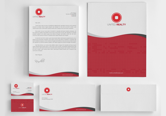 I will Design Eye Catching Stationery With Business Card, Letterhead And Invoice