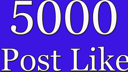 I will add 5000 facebook post likes
