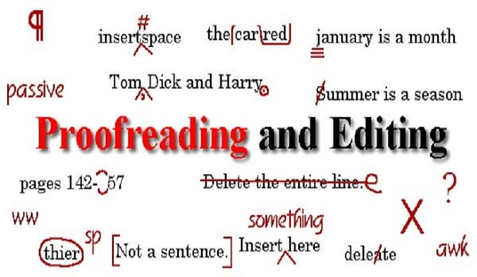 I will proofread, Edit and format your books and documents