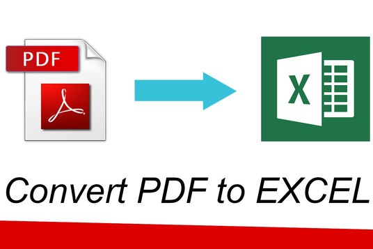 I will convert your pdf to excel and excel to pdf, word to pdf, pdf to word