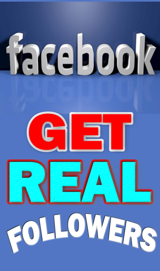 I will Generate 100+ Real Genuine facebook followers