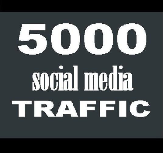 I will drive 5000  socialmedia  Visitors  to your    Ebay Etsy Amazon ecommerce  shop