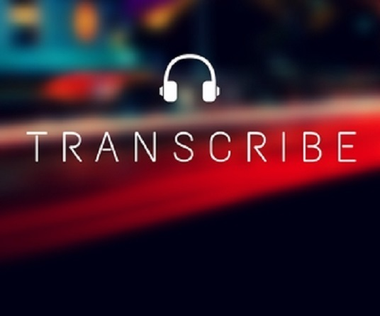 I will transcribe 20 minutes of your audio or video