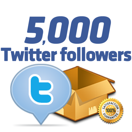 I will Add 5000 Twitter Followers