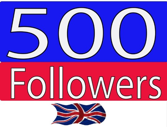 I will provide you 500 UK twitter followers
