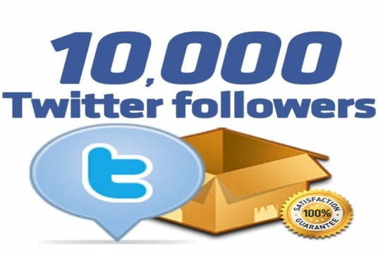 I will Add 10000 Twitter Followers