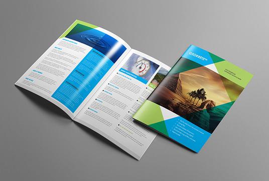 create corporate brochure design, booklet, handout, leaflet or magazine