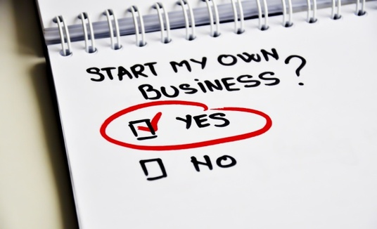 I will advise you about starting your own business