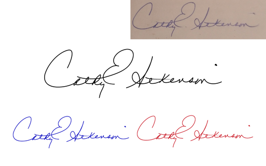 convert your handwritten signature into high quality electronic signature