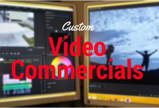 create a 30 second video or commercial advert