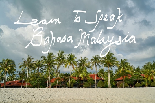 I will Teach You To Speak Basic Malay - Bahasa Malaysia