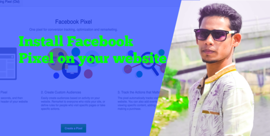 I will Install Facebook Pixel Code On Your Website