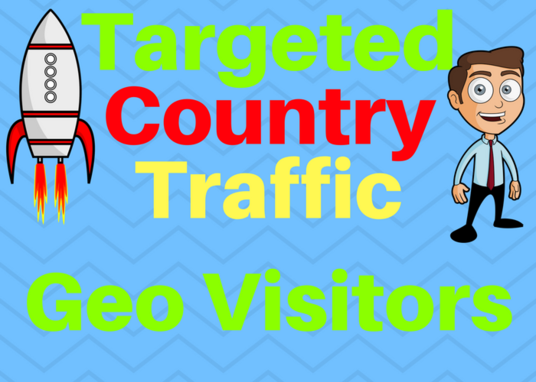 I will Provide You 5000 Targeted Country Traffic Choose your country