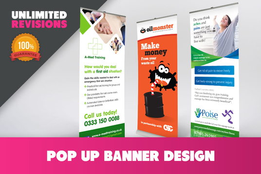 I will do modern Banner Design
