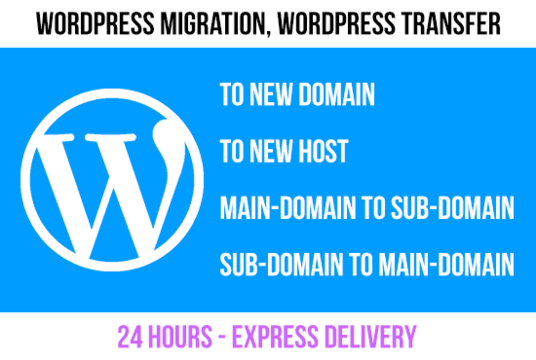 I will Migrate, Move, Transfer or Clone your Wordpress website