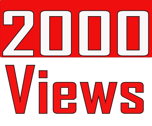 I will Give 2,000 YouTube Views