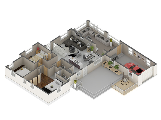 I will create your 3D FLOOR PLAN