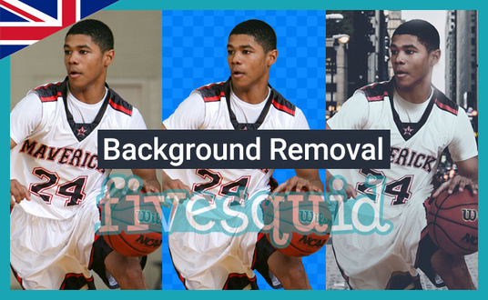 I will remove backgrounds from 5 images