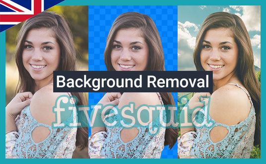 remove backgrounds from 5 images
