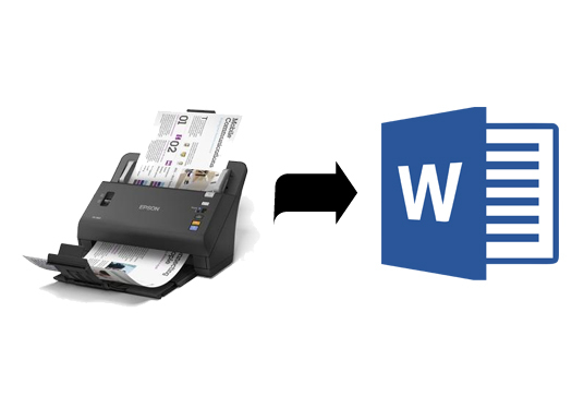 convert your scanned PDF document into a Word document