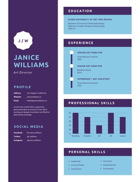 design CV and Resume