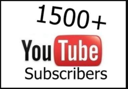 I will add Guaranteed 2500 Youtube Subscribers