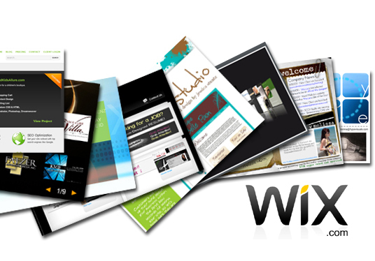 design or edit a WIX website
