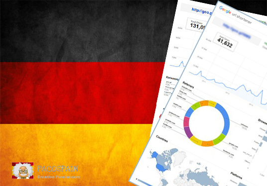 send 250 German Targeted Visitors for 30 Days with low bounce rate