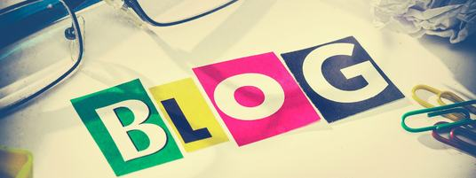 I will create a sleek and professional blog for you