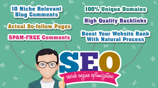 I will Do 10 Niche Relevant Blog Comments On actual Do-follow pages
