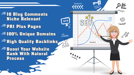 I will Provide 10 Blog Comments Niche Relevant on Pages PR1 Plus