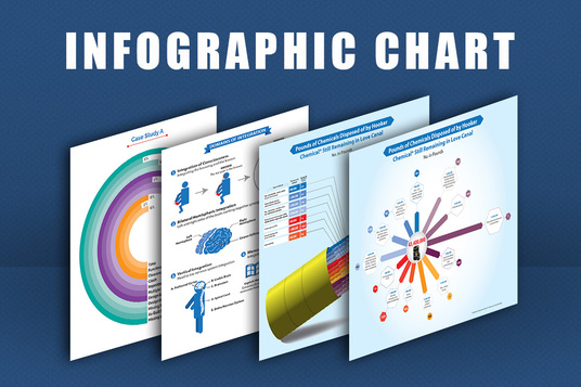 I will design infographics chart