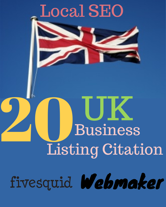 I will provide 20 UK local listing citation for your business || Best UK local SEO