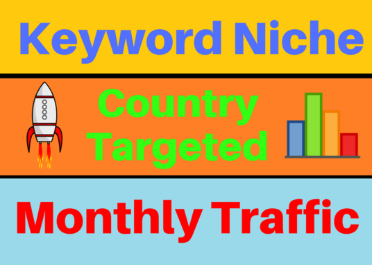 I will Provide Keyword Targeted Monthly Website Traffic