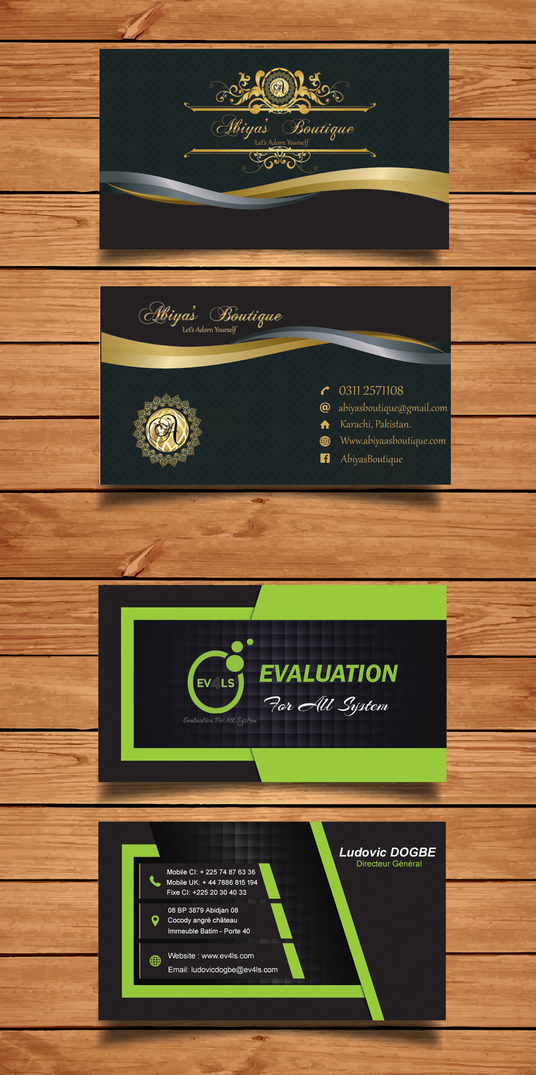 I will design unique business card in just 2 hours