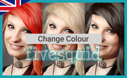change a colour within an image
