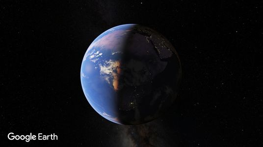 I will Create Cinematic Earth Zoom In To Your Location