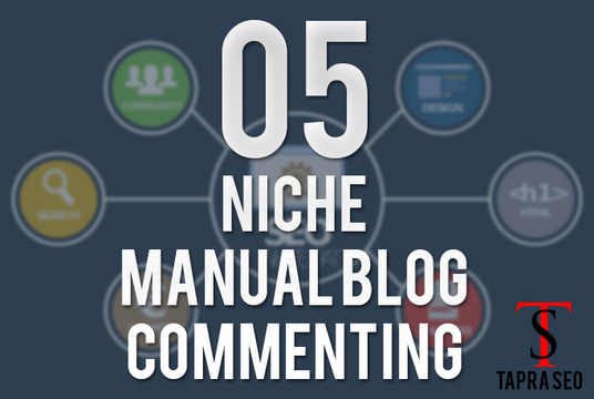 Do 5 Niche Manual Themed Blog Commenting