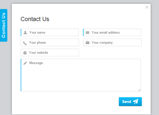 I will create contact form and configure in wordpress