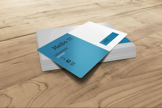 I will design professional customized business card in 24h