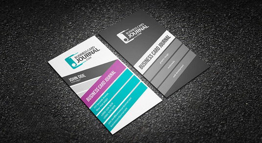 I will design Professional vertical Business Card for you