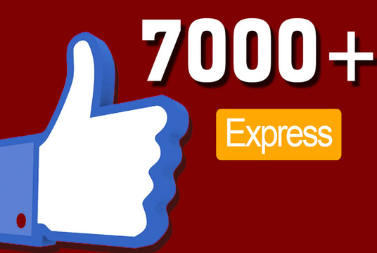I will add 7000 facebook page post likes or profile post likes